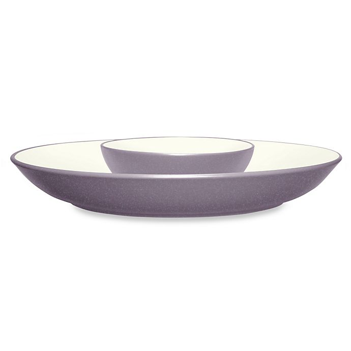 Alternate image 1 for Noritake® Colorwave Chip and Dip in Plum
