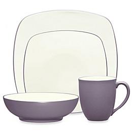 Noritake® Colorwave Square Dinnerware Collection in Plum