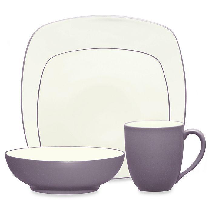 Alternate image 1 for Noritake® Colorwave Square Dinnerware Collection in Plum