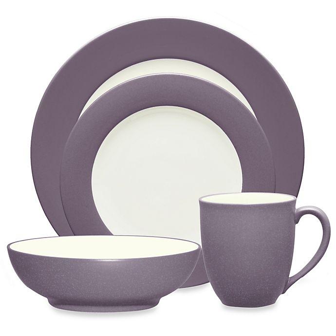 Alternate image 1 for Noritake® Colorwave Rim Dinnerware Collection in Plum