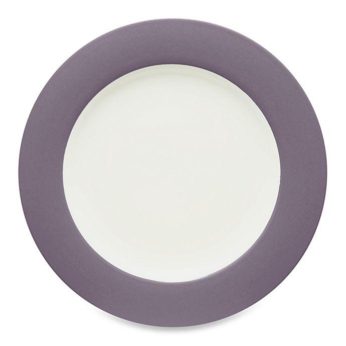 Alternate image 1 for Noritake® Colorwave Rim Dinner Plate in Plum