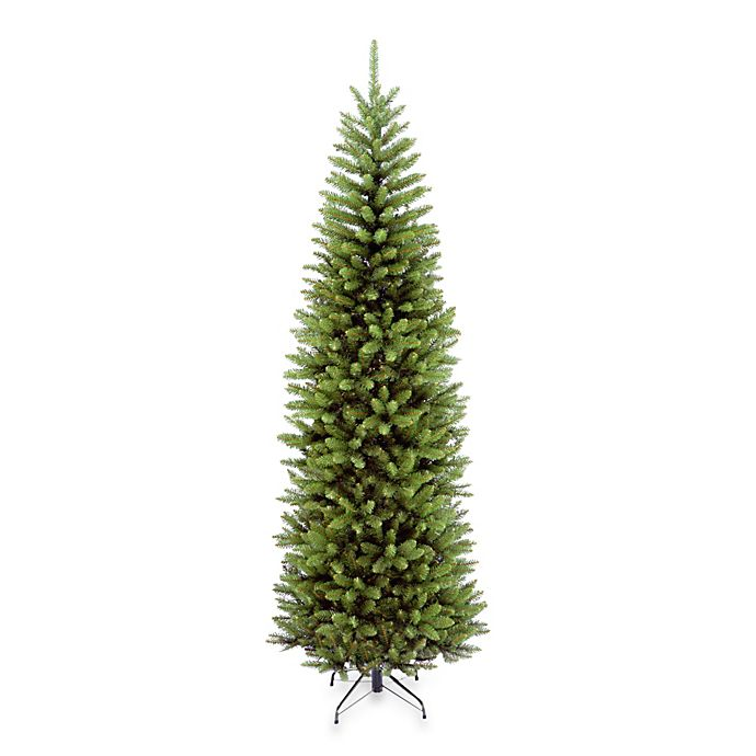 Alternate image 1 for National Tree Company 7-Foot 6-Inch Foot Kingswood Fir Hinged Pencil Tree