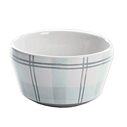 Bee & Willow™ Home Plaid Cereal Bowl in Green