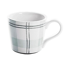 Bee & Willow™ Home Plaid Mug in Green
