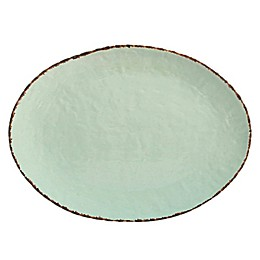 Bee & Willow™ Home Oval Platter in Green