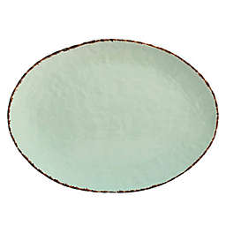 Bee & Willow™ Home 15.7-Inch Oval Platter in Green