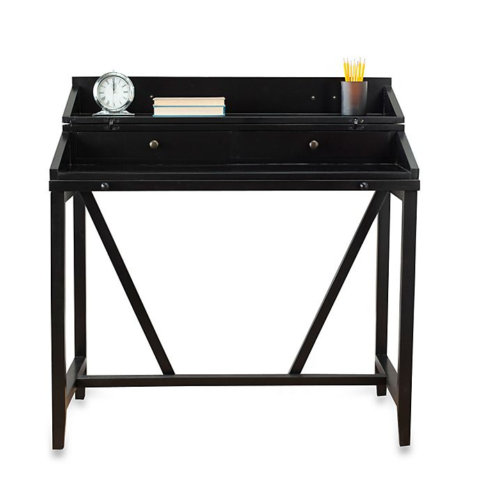 Alternate image 1 for Safavieh American Home Wyatt Pull-Out Writing Desk