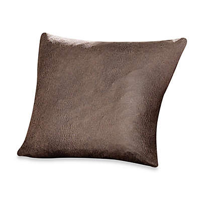 Sure Fit® Stretch Leather 18-Inch Square Pillow