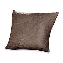Sure Fit Stretch Leather 18 Inch Square Pillow