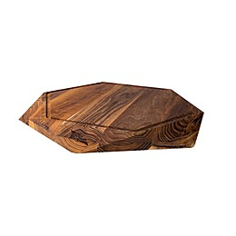 Teak Star Cutting Board - Large with Juice Trench