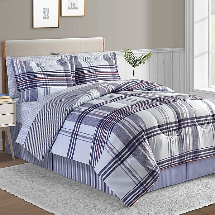 Alternate image 1 for Laguna 8-Piece Reversible Comforter Set