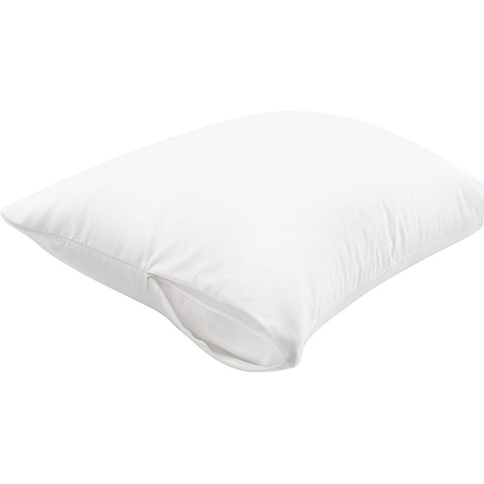 Alternate image 1 for Therapedic® Allergy Standard/Queen Pillow Protector in White