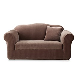 Sure Fit® Stretch Pinstripe Slipcover