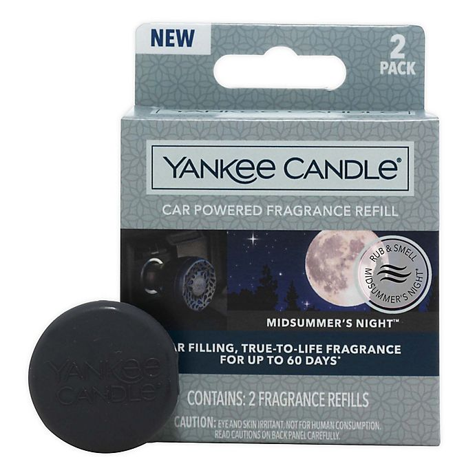 Alternate image 1 for Yankee Candle® Charming Scents MidSummer's Night® Car Air Freshener Refill