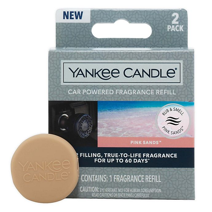 Alternate image 1 for Yankee Candle® Charming Scents Pink Sands™ Car Air Freshener Refill