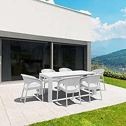 Panama 7-Piece Outdoor Extendable Dining Set