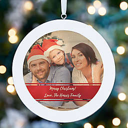Personalized Family Photo LED Light Ornament