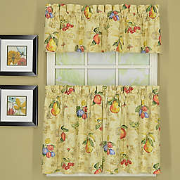 Today's Curtain Orchard Sailcloth Window Curtain Tiers and Valance Collection