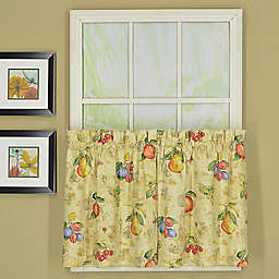 Today's Curtain Orchard Sailcloth 2-Pack Window Curtain Tiers in Sand