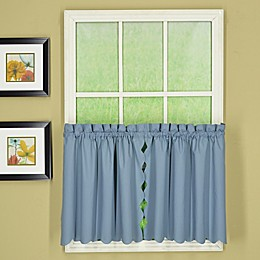 Today's Curtain Orleans Scalloped Rod Pocket Window Curtain Tiers