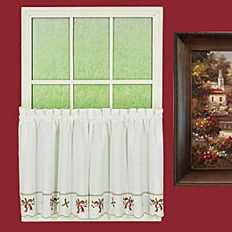 Today's Curtain Holiday Joy 2-Pack Window Curtain Tiers