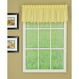 Today's Curtain Orleans Scalloped Window Valance