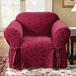 Sure Fit® Scroll 1-Piece Chair Slipcover
