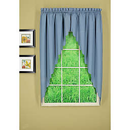 Today's Curtain® Orleans 2-Pack Scalloped Swag Window Valances