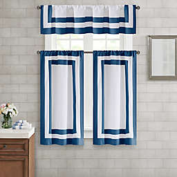 Wamsutta® Hotel Border Window Curtain Collection