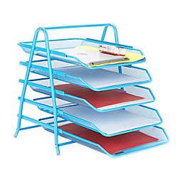 Mind Reader Desk Organizer with Sliding Trays