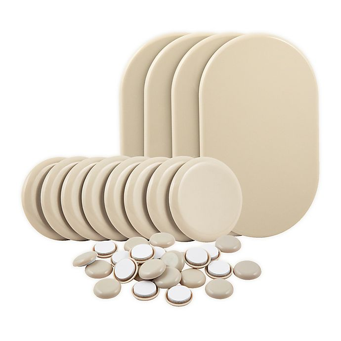 Alternate image 1 for Waxman® 36-Piece Let's Get Moving Sliders Bundle Set in Oatmeal