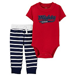 carter's® 2-Piece Mighty Handsome Bodysuit and Pant Set