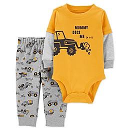 carter's® 2-Piece Construction Bodysuit and Pant Set