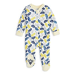 Burt's Bees Baby® Freshly Squeezed Organic Cotton Footie in Pear