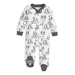 Burt's Bees Baby® Cloudy Night Organic Cotton Sleep and Play in Slate