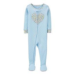 carter's® 1-Piece Cotton Footie Pajamas
