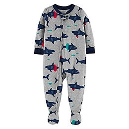 carter's® Animal Zip-Front Footie