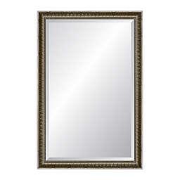 "Reveal Frame & Decor Newbury 26"" x 39.5"" Wall Mirror in Antiqued Silver"