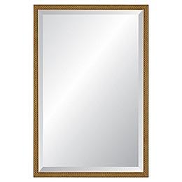 Reveal Frame & Decor Rectangular Venetian Gold Beveled Mirror