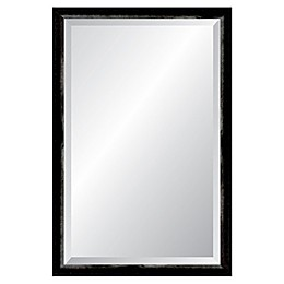 Reveal Frame & Decor Robust Foundry Iron Rectangular Beveled Wall Mirror