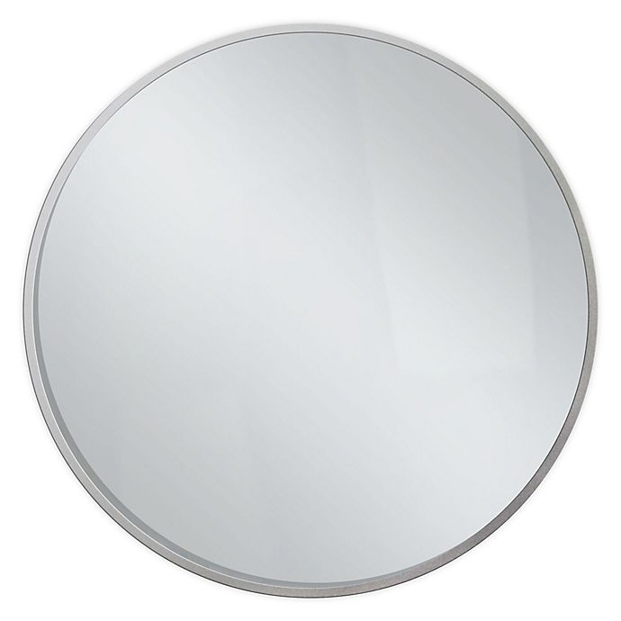 Alternate image 1 for O&O by Olivia & Oliver™ Savanna 28.5-Inch Round Wall Mirror