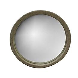 Global Caravan™ 30-Inch Round Raffia Wall Mirror in Natural