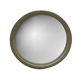 Global Caravan™ 30-Inch Round Raffia Wall Mirror in Natural