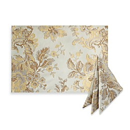Waterford® Linens Marcelle Placemat and 2-Pack of Napkins