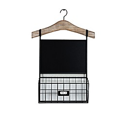 Bee & Willow™ Home Metal Chalkboard with Bin Rack