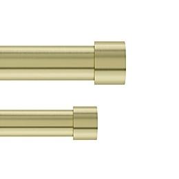 Umbra® Cappa Adjustable Double Curtain Rod Set