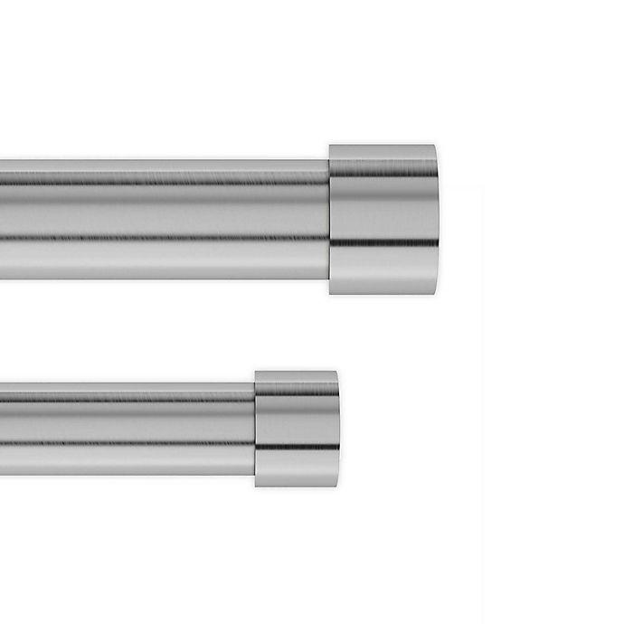Alternate image 1 for Umbra® Cappa Adjustable Double Curtain Rod Set