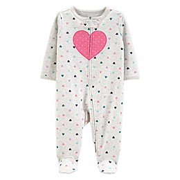 carter's® Preemie Heart Sleep N' Play Footie