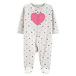 carter's® Preemie Heart Sleep N' Play Footie