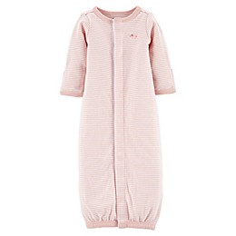 carter's® Preemie Stripe Sleep Gown in Pink
